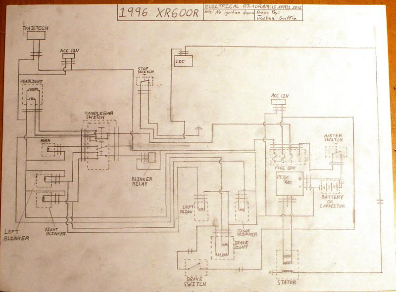 Xr600r Wiring Diagram | Wiring Diagram on
